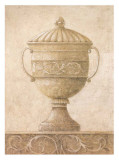 Vases classiques en sépia I Affiches par Javier Fuentes