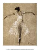 Bourees I Plakat af Mary Dulon