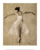 Bourees I Kunstdruck von Mary Dulon