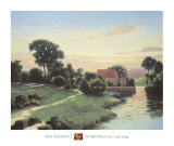 Old Mill Bluestone Prints by Max Hayslette