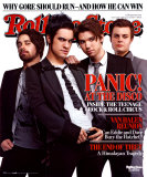 Panic At The Disco- Rolling Stone Cover Foto