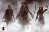 Pirates Of The Caribbean- At World&#39;s End Prints