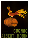 Cognac Albert Robin Prints by Leonetto Cappiello