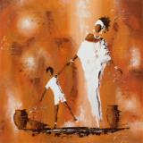 Maman et Moi II Kunstdrucke von  Johanna