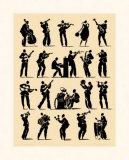 Jazz Reprodukcje autor Philippe Geraud