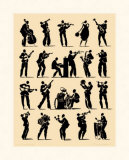 Jazz Prints by Philippe Geraud