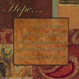 Words to Live By: Hope Print by  Smith-Haynes