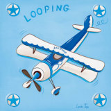Looping Print by Lynda Fays