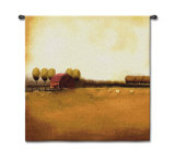 Rural Landscape Wall Tapestry by Tandi Venter