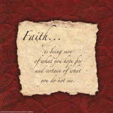 Words to Live By: Faith Posters by  Smith-Haynes