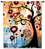 June Tree Wall Tapestry by Natasha Wescoat