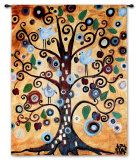 Untitled From The Tree Of Life Wall Tapestry by Natasha Wescoat