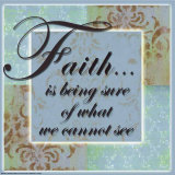 Words to Live By: Faith Posters by Marilu Windvand