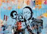 Jazz I Print by Thierry Vieux