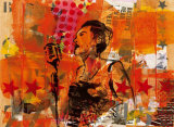 Jazz III Poster von Thierry Vieux