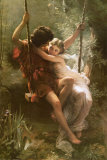 Springtime Posters by Pierre-Auguste Cot
