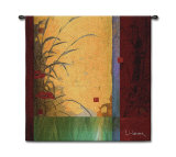 Dancing in the Wind Wall Tapestry by Don Li-Leger
