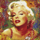 Marilyn II Prints by Guillaume Ortega