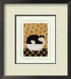 Cat in Hot Tin Tub Prints by Warren Kimble