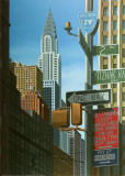 Chrysler from 2nd Avenue Prints by Eric Peyret