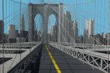 Brooklyn Bridge Posters by Eric Peyret