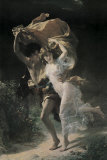 L&#39;orage Affiches par Pierre-Auguste Cot