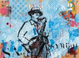 Jazz IV Kunst von Thierry Vieux