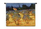Les Olives en Printemps Wall Tapestry by Philip Craig