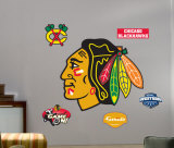 Blackhawks Logo -Fathead Wall Decal