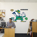 Fighting Irish Logo -Fathead Wall Decal