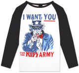 BB Jersey: Kiss - Uncle Sam Army Raglans