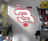 Number 3 Logo -Fathead Wall Decal