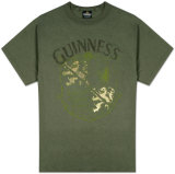 Guinness - Large Crest w/Foil Shirt