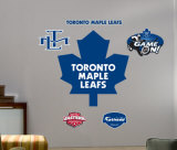 Maple Leafs Logo -Fathead Wall Decal