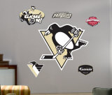 Penguins Logo -Fathead Wall Decal