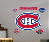 Canadiens Logo -Fathead Wall Decal