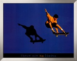 No Limits Skateboarder Prints