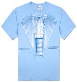 Ruffled Tuxedo T-Shirt