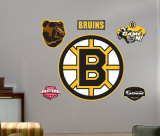 Bruins Logo -Fathead Wall Decal