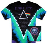Pink Floyd - Dark Side V-Dye T-Shirt