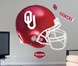 Oklahoma Sooners Helmet -Fathead Wall Decal