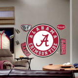 Alabama Crimson Tide Logo -Fathead Wall Decal
