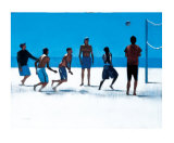 Volley Ball, Venice Beach Limited Edition by Peter Nardini