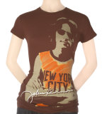 Juniors: John Lennon - NY Photo T-shirts