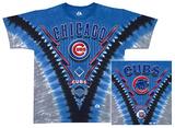 Cubs V-Dye T-skjorte