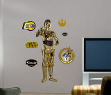 C-3PO -Fathead Wall Decal