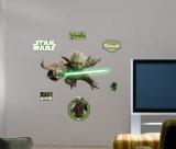 Yoda -Fathead Veggoverføringsbilde