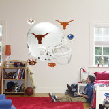 Texas Longhorns Helmet Wall Decal
