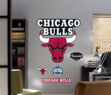 Bulls Logo -Fathead Wall Decal
