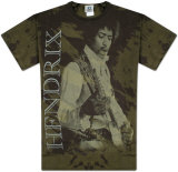 Jimi Hendrix - Earth and Space T-Shirt